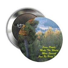 "Jewish New Year Wishes For Someone Sp 2.25"" Button"