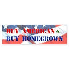 Buy Homegrown Bumper Bumper Sticker