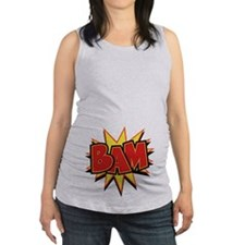 2-bam3-T.png Maternity Tank Top