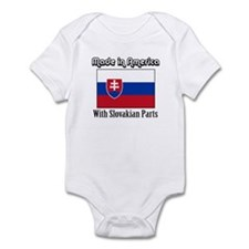 Slovakian Parts Infant Bodysuit