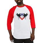Masonic Red, White and Blue Eagles Baseball Jerse