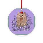 Yorkshire Terrier - YORKIE Ornament (Round)