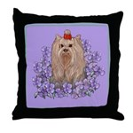 Yorkshire Terrier - YORKIE Throw Pillow