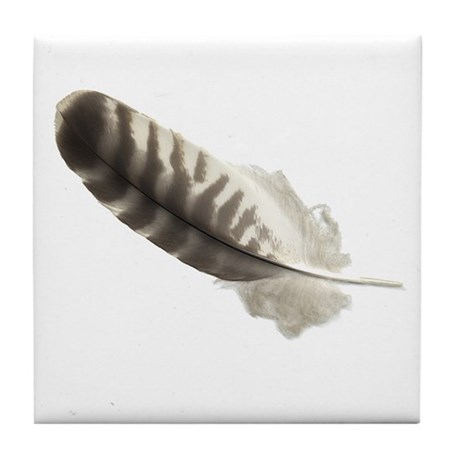 Feather Tile Coaster 1