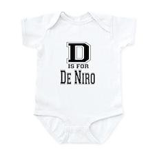 D is for De Niro Infant Bodysuit