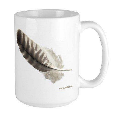 Feather Large Mug