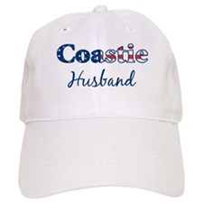 Coastie Husband (Patriotic) Baseball Cap