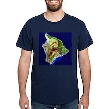 Big Island from Landsat T-Shirt
