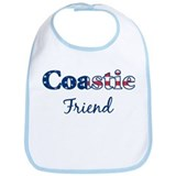 Coastie Friend (Patriotic) Bib