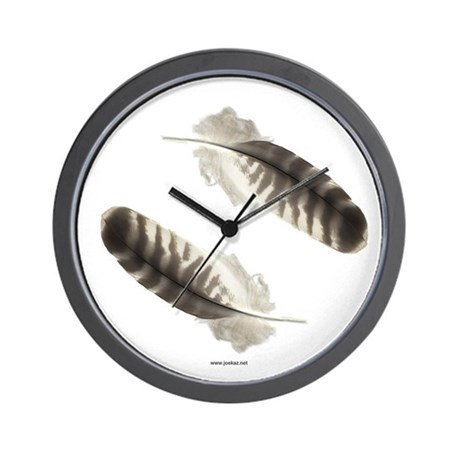 Feather Wall Clock 2