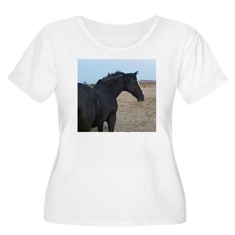 BlueFeatherSanctuary Plus Size T-Shirt