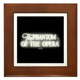 The Phantom of the Opera 1925 Framed Tile