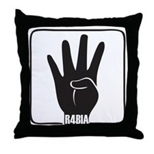 Rabaa rabia  Throw Pillow