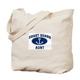 Coast Guard AUNT (Anchor) Tote Bag