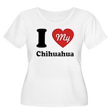 I Heart My Chihuahua T-Shirt