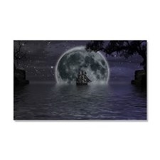 midnight cruise Large Car Magnet 20 x 12