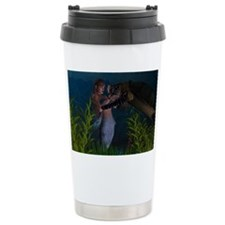Aquatic Touch Ceramic Travel Mug