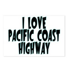 Pacific Coast Highway Postcards (Package of 8)