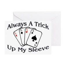 Always A Trick2 Greeting Card