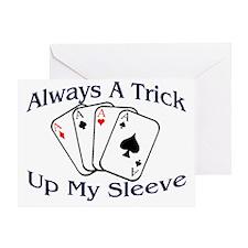 Always A Trick2 Greeting Card