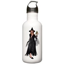 Witch Frog Water Bottle