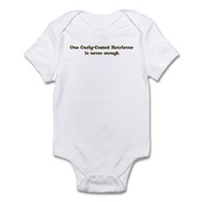 Curly-Coated Retriever Infant Bodysuit