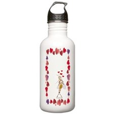 Flip Love Bug Water Bottle