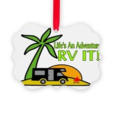 RV Adventure New Ornament