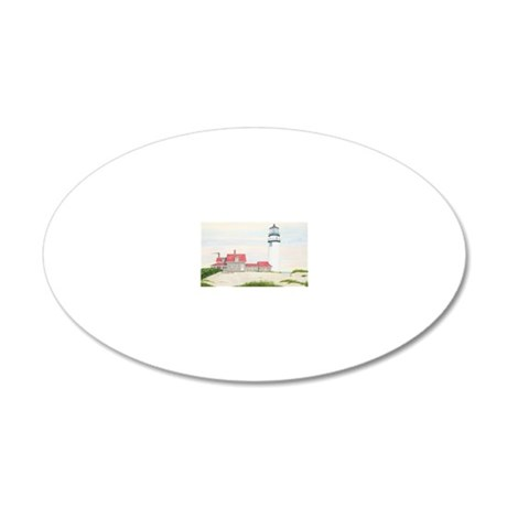 #36 11x17 20x12 Oval Wall Decal