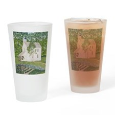#9 square Drinking Glass