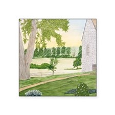 "#6 Mouse Pad Square Sticker 3"" x 3"""