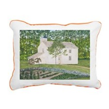 #9 Laptop Rectangular Canvas Pillow