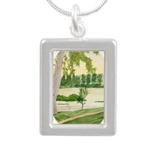 # 6 ORN O copy Silver Portrait Necklace