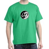 Yin Yang Bass Note T-Shirt