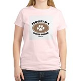 Poochin dog Women's Pink T-Shirt