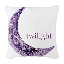 twilightqtrmoon Woven Throw Pillow