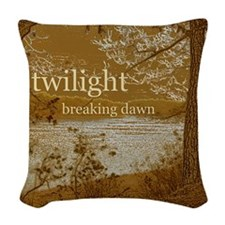 Twilight Breaking Dawn Woven Throw Pillow