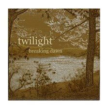 Twilight Breaking Dawn Tile Coaster
