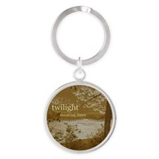 Twilight Breaking Dawn Round Keychain