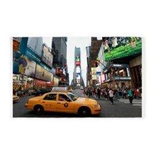 007890 Times Square NYC 2013 3'x5' Area Rug