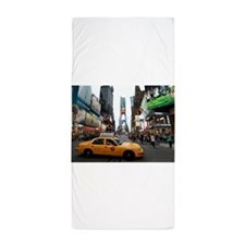 007890 Times Square NYC 2013 Beach Towel