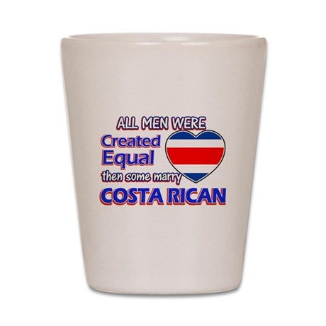 Costa rican Wife Designs Shot Glass