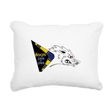 F-111G Rectangular Canvas Pillow