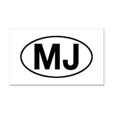 jeep mj Rectangle Car Magnet