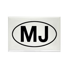 jeep mj Rectangle Magnet