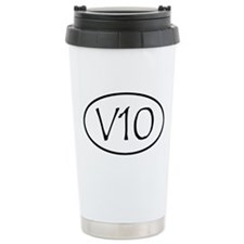 V10 Ceramic Travel Mug
