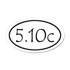 510c Oval Car Magnet