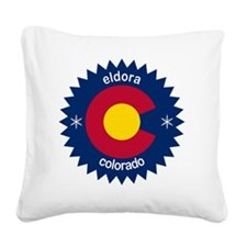 eldora Square Canvas Pillow