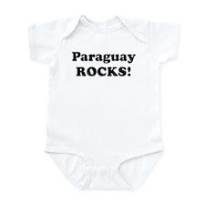 Paraguay Rocks! Infant Bodysuit