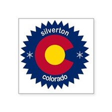 """silverton Square Sticker 3"""" x 3"""""""